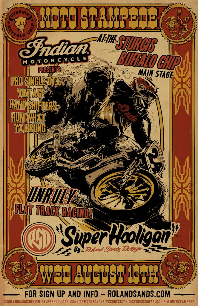 Bell Racing Helmets >> INDIAN MOTORCYCLE AND THE RSD SUPER HOOLIGANS FIRE UP THE ...